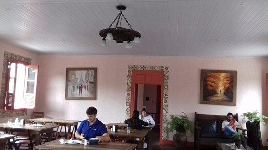 Conceicao De Macabu, RJ: Salão de cima.
