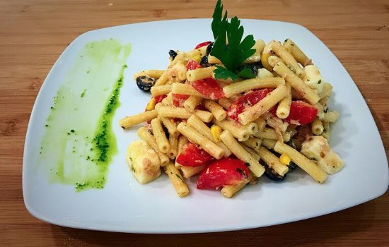 Dogana, Σαν Μαρίνο: Pasta alla crudaiola