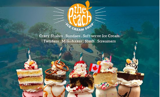 Penticton, Kanada: My selection of Crazy Shakes - for your pleasure!