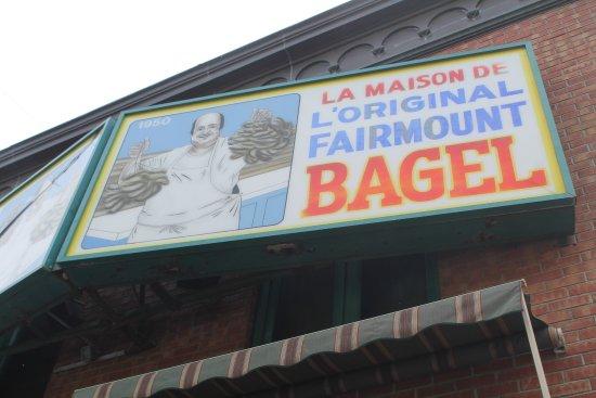 Photo of Fast Food Restaurant Fairmount Bagel at 74 Fairmount, Montreal H2T 2M2, Canada