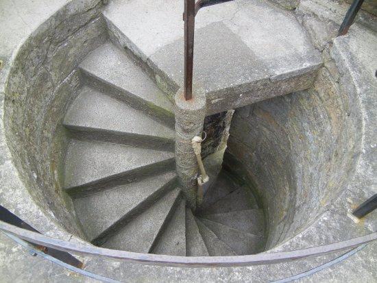 Caernarfon, UK: Turret stairs