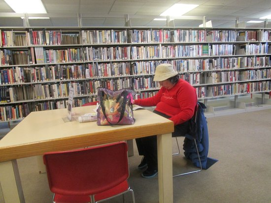 That is me at Seekonk Library.