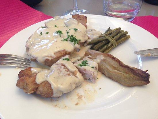 Belleville, Francja: La généreuse portion de ris de veau