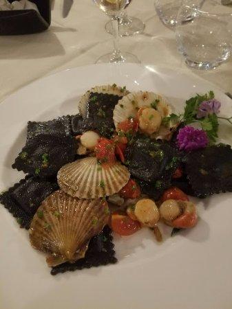 Vogogna, Италия: Ravioli neri