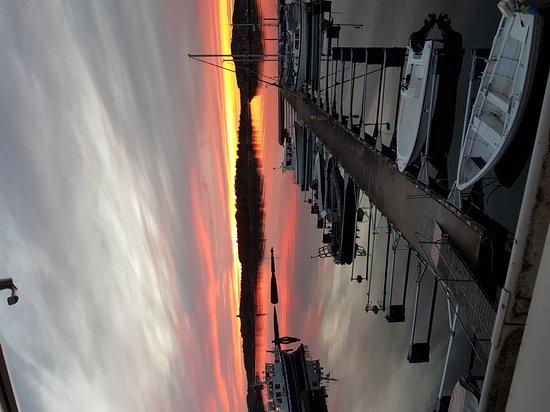 Styrso, Sweden: Kvällsutsikt Båtebaken