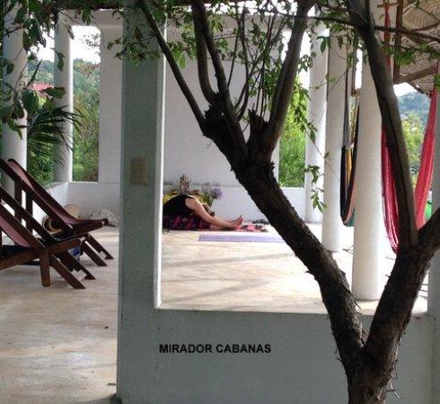 Hotel Posada Arigalan: Yoga space