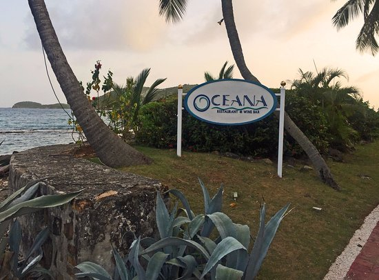 Frenchtown, St. Thomas: Oceana Location at Sunset