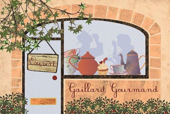 Excideuil, France: Gaillard Gourmand entree