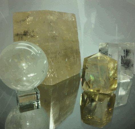 Mont Tamborine, Australie : Optic Calcite, Iceland spar
