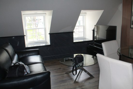 Auberge du Tresor: Sitting area