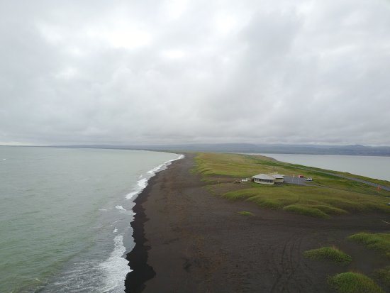 Eyrarbakki, Iceland: View from above