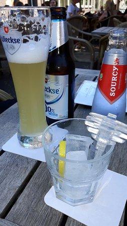 De Wijnhaven: lekkere koele drankjes op een warme dag