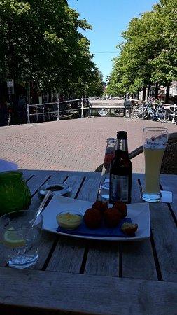 De Wijnhaven: Wijnhaven, hartje Delft