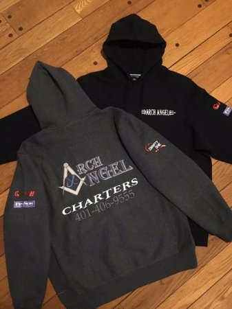 Portsmouth, RI: Sweatshiirts forsale on the charter