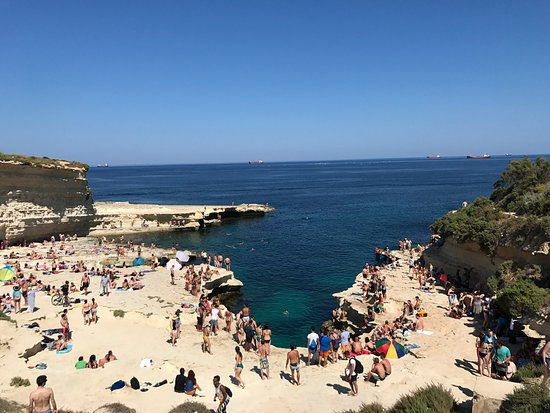 Marsaxlokk, Malta: Loved St. Peter's Pool!