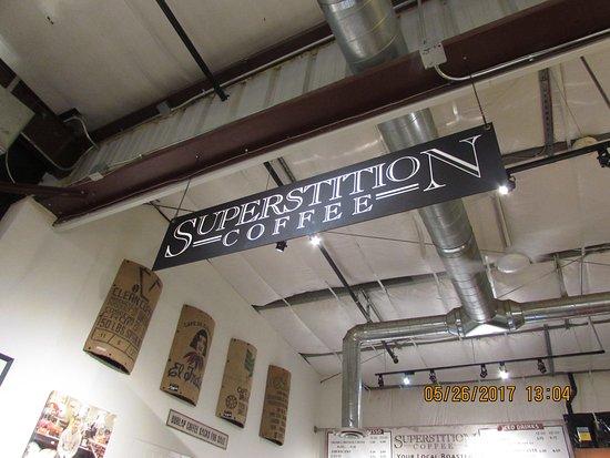 Queen Creek, AZ: Superstition coffee