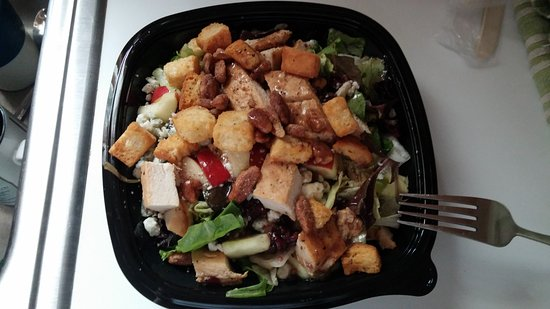 Perry, GA: Apple Pecan Chicken Salad - you can't go wrong!