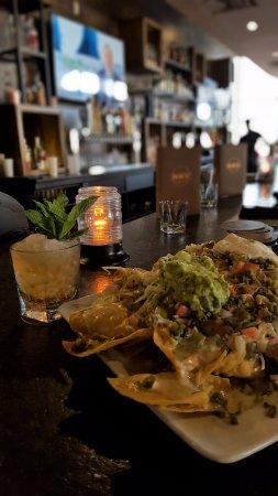 Plainfield, IN: Chicken nachos and a mint Julep!