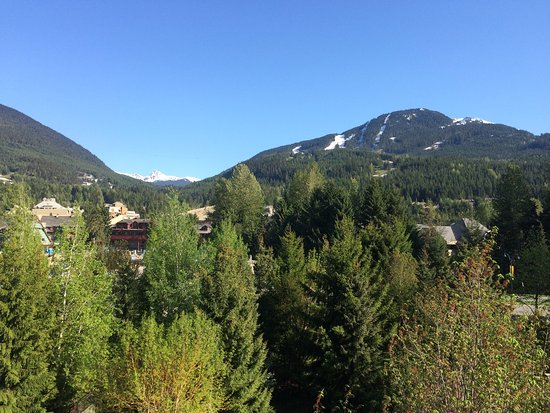 Whistler Cascade Lodge: Our room view