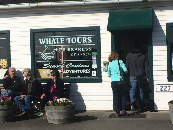 Port Townsend, WA: Where it all started at 8:30 am.