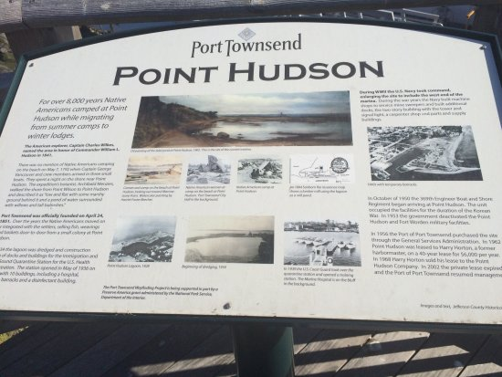 Puget Sound Express - Day Trips: An interesting historical perspective of site where tour is located in Port Townsend.
