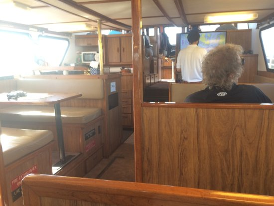 Puget Sound Express - Day Trips: Inside the ship seating was comfortable while underway or if too cool or windy outside