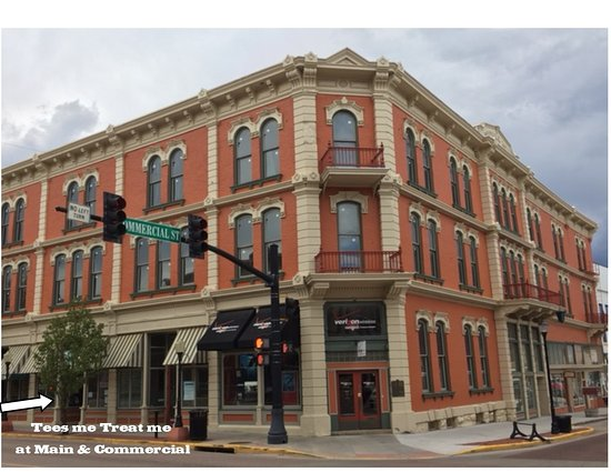 Trinidad, CO: Located at 105 W. Main St. in the historic Columbian Hotel.