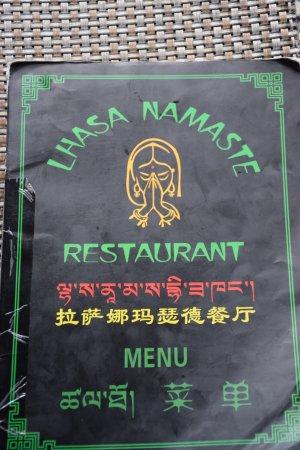 Namaste Restaurant: Front of restaurant