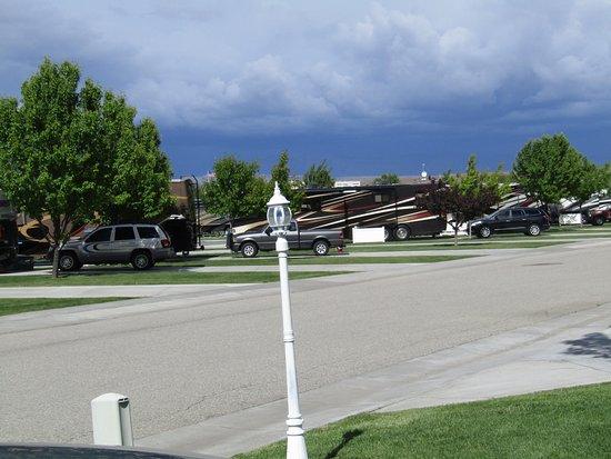 Mountain Home, Idaho: Storm