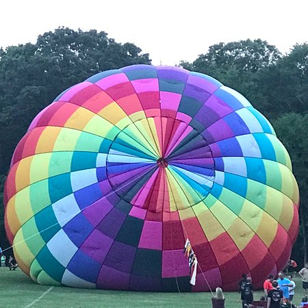 Decatur, AL: gives blowing up a balloon a whole new meaning!