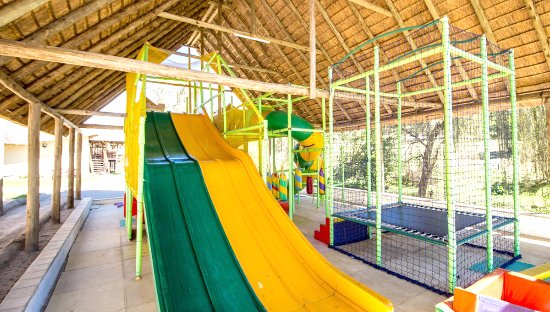 Roodepoort, Южная Африка: under cover children's play area
