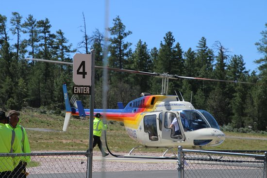 Papillon Grand Canyon Helicopters: Are helicopter ready for boarding