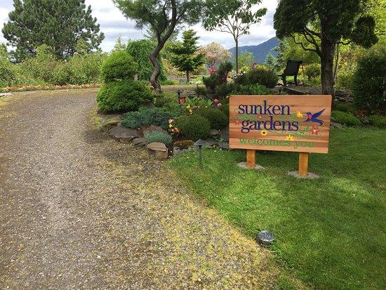 Prince Rupert, Canadá: Sunken Gardens