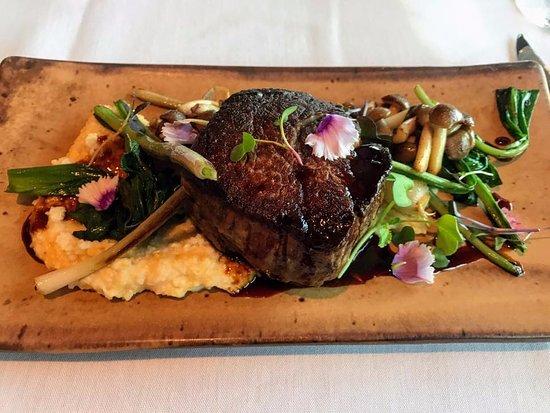 Gallatin River Lodge: Delicious filet at the Lodge