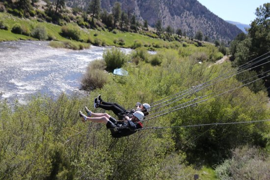 Buena Vista, CO : out over the river!