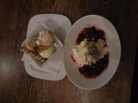 Shipton under Wychwood, UK: Ice cream, Eaton Mess
