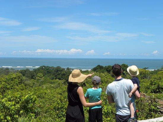 Ojochal, Kosta Rika: Ocean view.