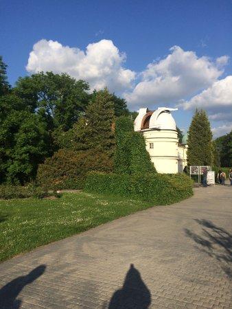 Štefánikova hvězdárna: Beautiful place to go for a walk.