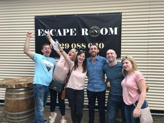 Ποκόλμπιν, Αυστραλία: Happy customers at the Wine Escape Room. Thank you so much