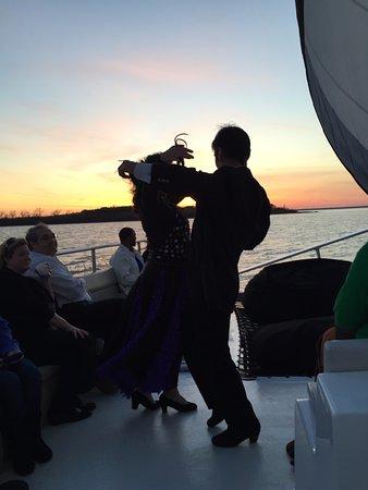 Lewisville, TX: Flamenco Dancers at sunset