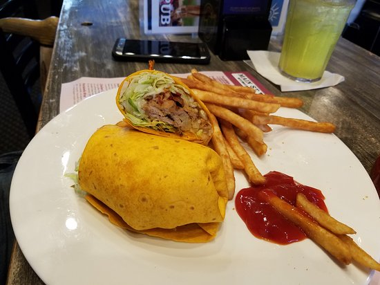 Allendale, มิชิแกน: Hawaiian Pork wrap