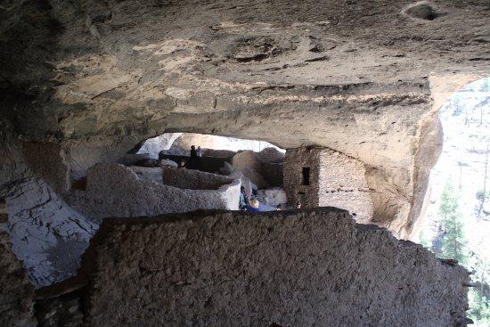 Gila, Nuevo México: Inside the dwellings