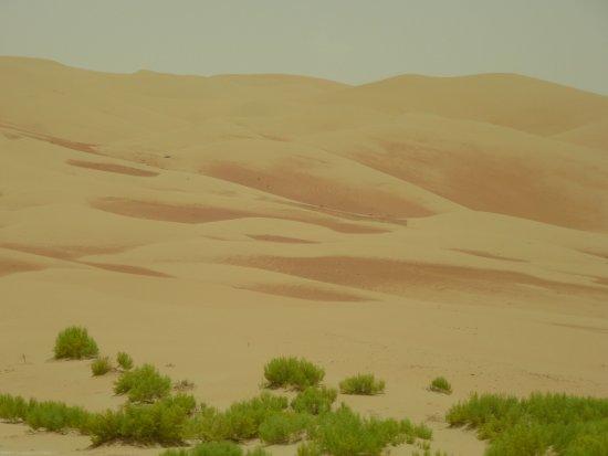 Liwa Oasis, Vereinigte Arabische Emirate: wunderschönes Farbenspiel in der Rub-al-Chali