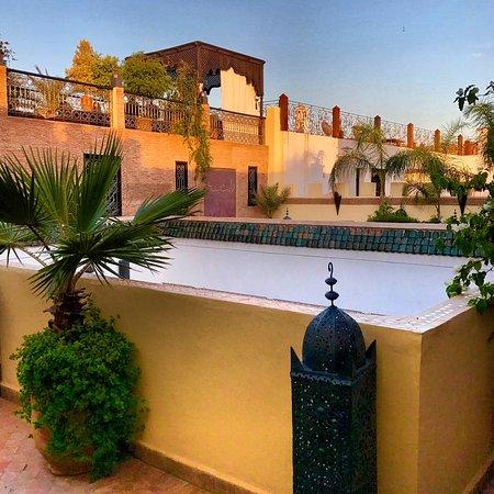 Riad Assakina: Rooftop