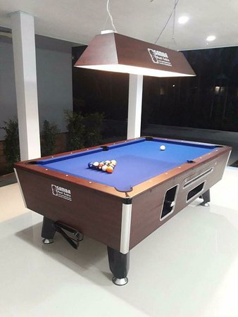 Phunphin, Thailand: Pool table