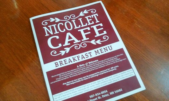 Saint Peter, MN: Nicollet Cafe
