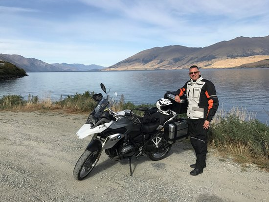 South Pacific Motorcycle Tours - Day Tours: one of the many lakes