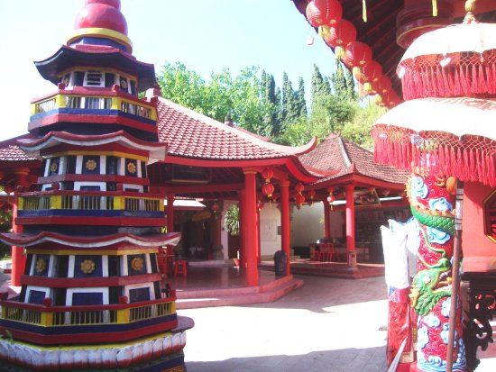 Blahbatuh, Indonesien: vihara pagoda
