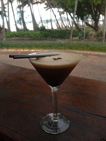 Chill Cafe : Espresso Martini...with view