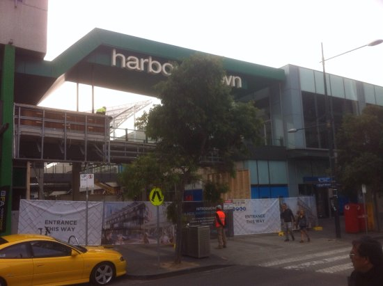 Harbour Town Melbourne: Construction - Demolition works - May 2017